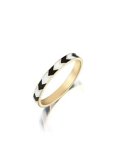 Piano Jewellery Octave Way Altın Yüzük 14 Ayar Altın